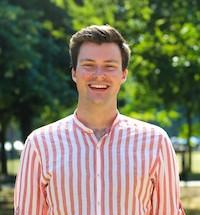 Shane De Rís, President, Trinity College Dublin Students' Union